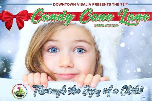 Visalia Christmas Parade 2019 Candy Cane Lane Parade